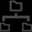 ツリー構造の図